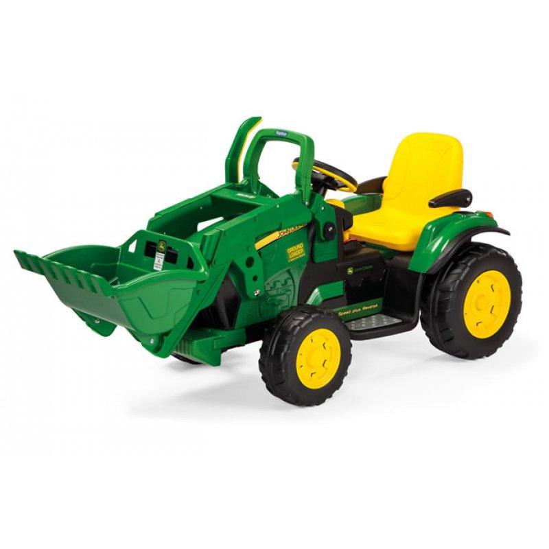 12volt John Deere Loader Elektro Traktor 319 95